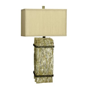 Dodson Wood Carvings 30.75 Table Lamp