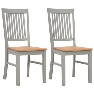 Lyerly Solid Wood Dining Chair (Set Of 2) By August Grove