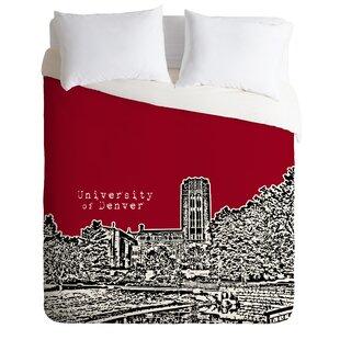 East Urban Home University of Denver Duvet Cover Set