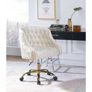 Yahya Swivel Task Chair by Everly Quinn Best #1