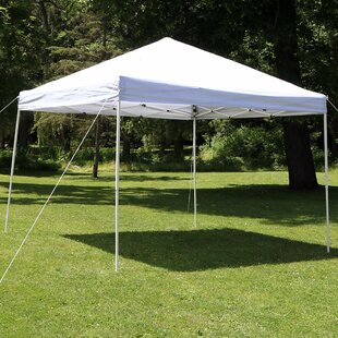 Midland 10Ft.Wx10Ft.DSteel Pop-Up Canopy by Freeport Park