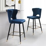 Fiore Bar & Counter Stool by Everly Quinn