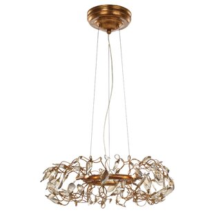 Bungalow Rose Pinion 6-Light Novelty Chandelier