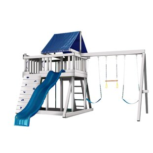 Kidwise Congo Monkey White and Sand Playsystem 1
