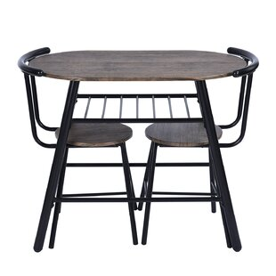 Peckham 3 Piece Dining Set Williston Forge