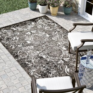 Christine Light Gray Indoor/Outdoor Area Rug