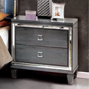 Dunsmuir 2 Drawer Nightstand by Rosdorf Park