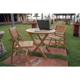 Anderson Teak Windsor 3 Piece Teak Bistro Set