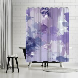 Amy Brinkman Bomb Pop Purple Shower Curtain