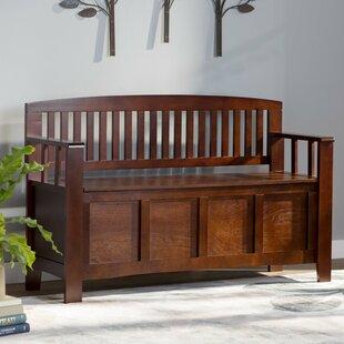 Indoor Wooden Storage Bench | Wayfair