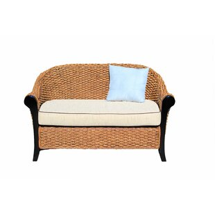 Chic Teak Water Hyacinth Soldano Loveseat