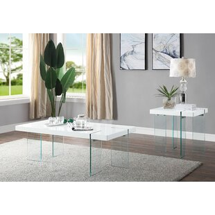 Rosdorf Park Lapidge 2 Piece Coffee Table Set