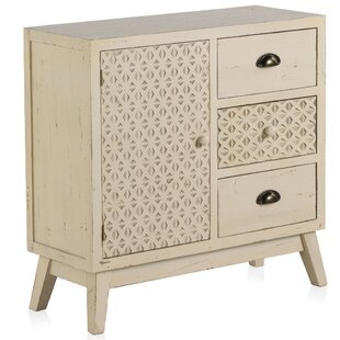 Croftshire 3 Drawer Combi Chest By Bloomsbury Market