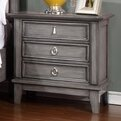 Palmisano 3 Drawer Nightstand