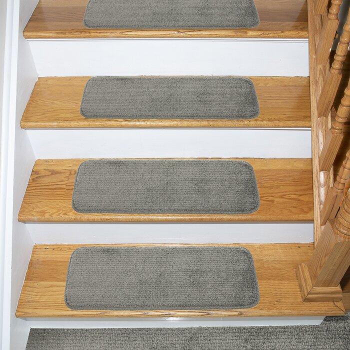 Beattie Soft Solid Carpet Stair Tread