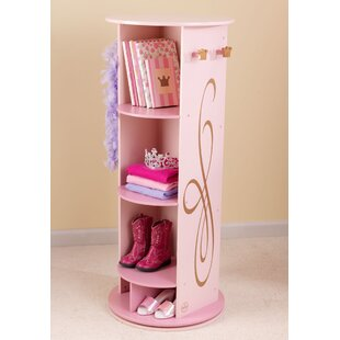Newson Princess Swivel Armoire by Zoomie Kids