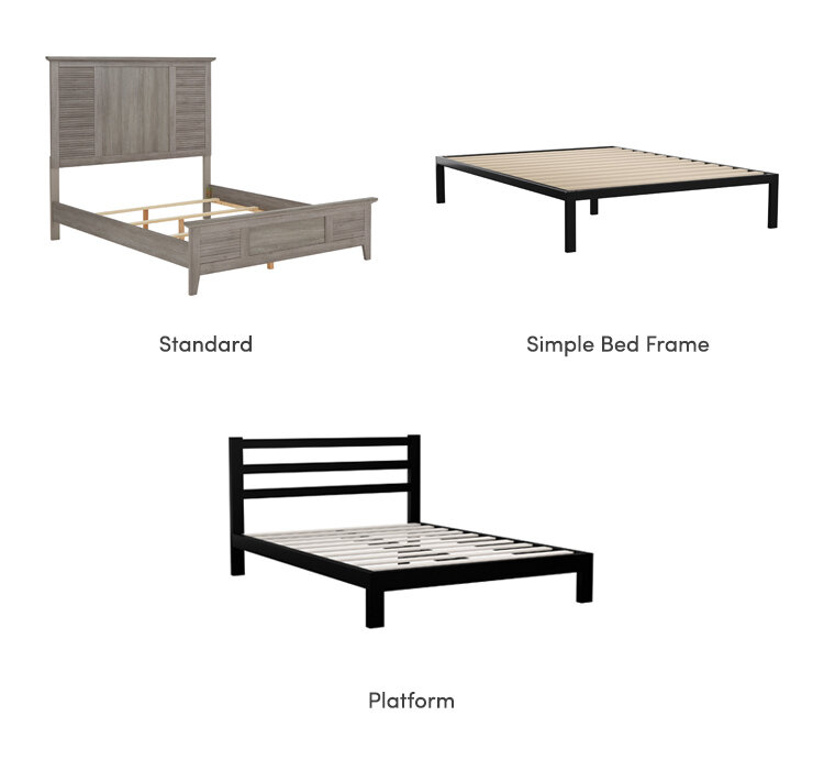 collage of bed box spring requirement types