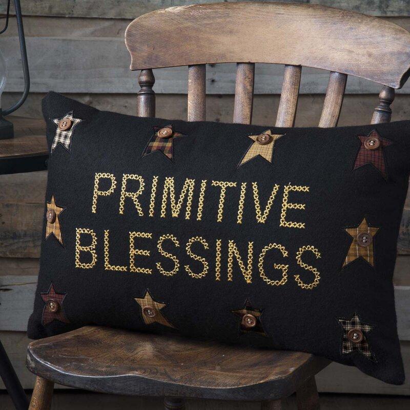 August Grove Lapoint Primitive Blessings Lumbar Pillow Reviews Wayfair