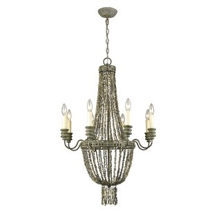 Iverson 8-Light Empire Chandelier by Bungalow Rose