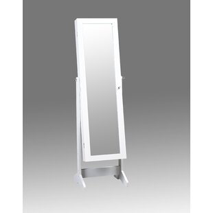 Phoenixville Jewelry Armoire Cheval Mirror By Charlton Home