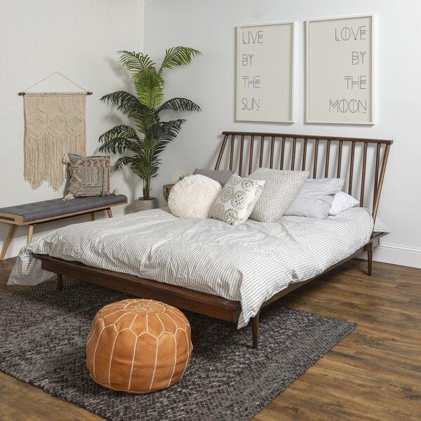 Queen Solid Platform Bed Wayfair