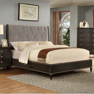 Darby Home Co Dejuan Tufted Fabric Upholstered Panel Bed