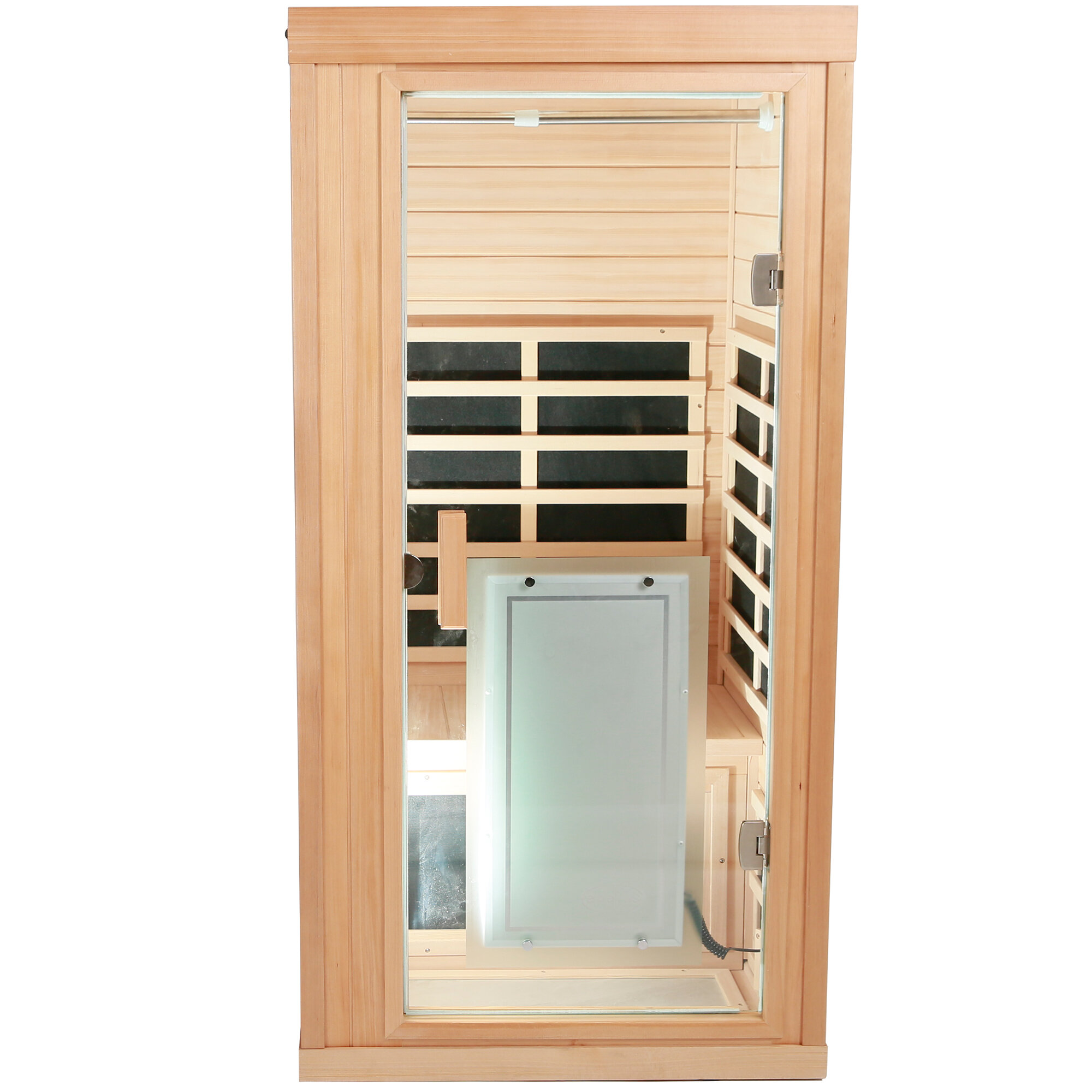 Magic Home Mini Wooden 1 Person Far Infrared Sauna Wayfair
