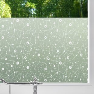 Atomic Retro Privacy Window Film by Stick Pretty
