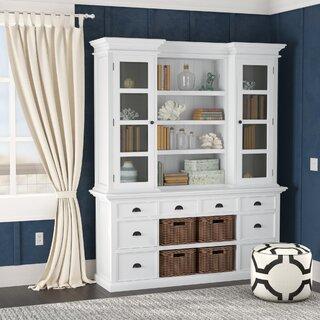 Amityville Standard Bookcase by Beachcrest Home SKU:EB631077 Information