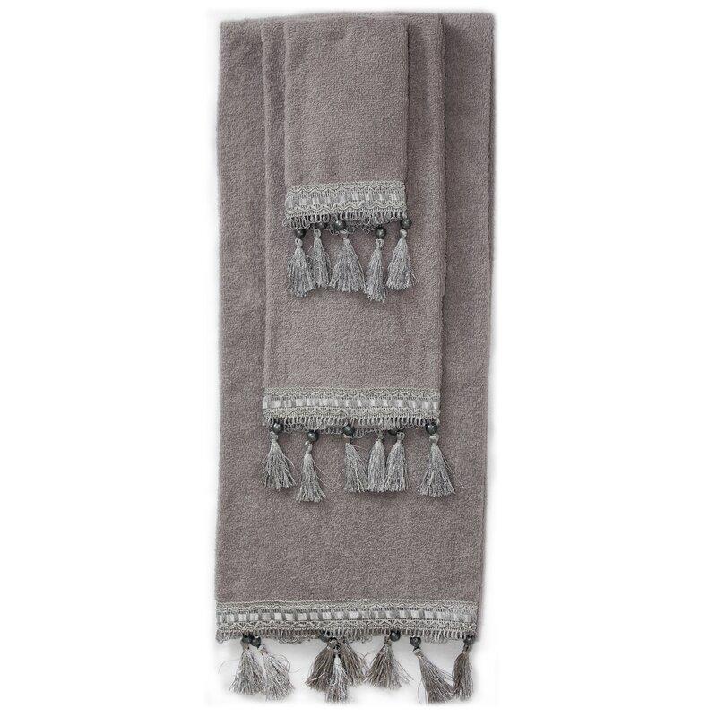 Charlton Home Simcox 3 Piece 100 Cotton Towel Set Reviews Wayfair