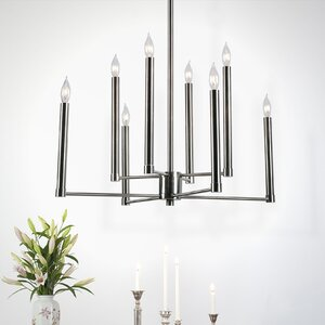Quy 8-Light Candle-Style Chandelier