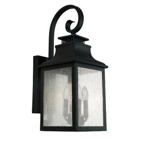 Best Reviews Seymour 3-Light Outdoor Wall Lantern By Breakwater Bay