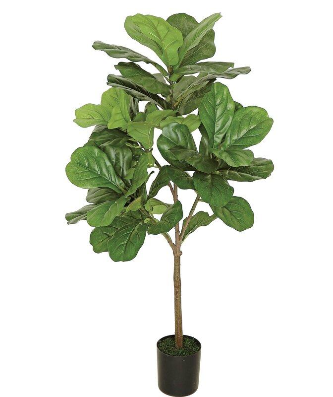 Faux Green Plant