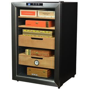 400 Cigar Humidor Single Zone Freestanding Refrigerator by NewAir