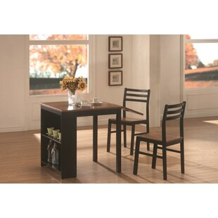 Boehmer 3 Piece Dining Set by Andover Mills