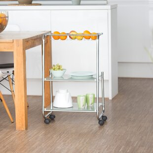 Jago Serving Cart By 17 Stories