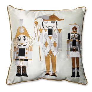 Holiday Nutcrackers Throw Pillow