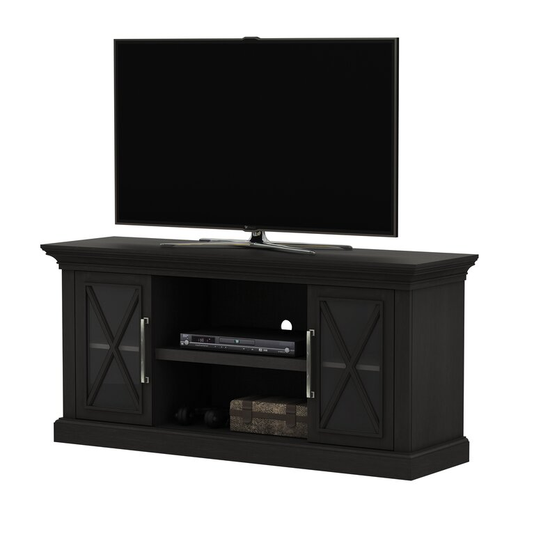"""Loon Peak® Solid Wood TV Stand for TVs up to 65"""" & Reviews 