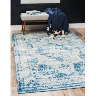 ee9d671f33f1 Blue Rugs You'll Love in 2019 | Wayfair