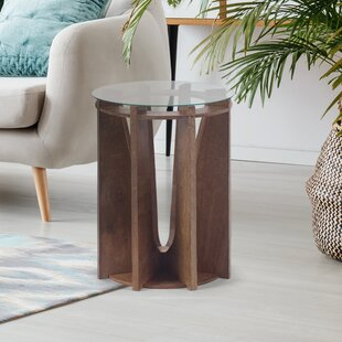 Thursa Round End Table