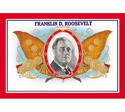 Franklin D Roosevelt Cigars Vintage Advertisement Buyenlarge Size 66 H X 44 W X 15 D