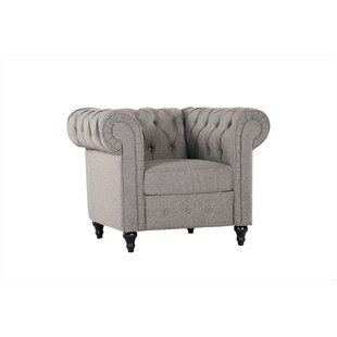 Darby Home Co Amburgey Chesterfield Chair