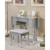 Kincaid Vanity Set with Mirror by House of Hampton®