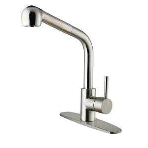 Avondale Single Handle Pull-Out Spray Kitchen Faucet with Deck Plate
