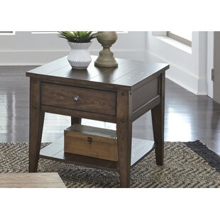 Reviews Kalene End Table By Loon Peak