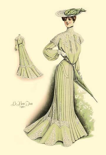 Buyenlarge Le Bon Ton In Green Painting Print Wayfair