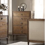 Cooke 5 Drawer Chest by Cozzy Design