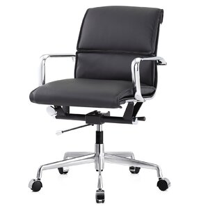 Leather Computer Chairs meelano office chairs you'll love | wayfair