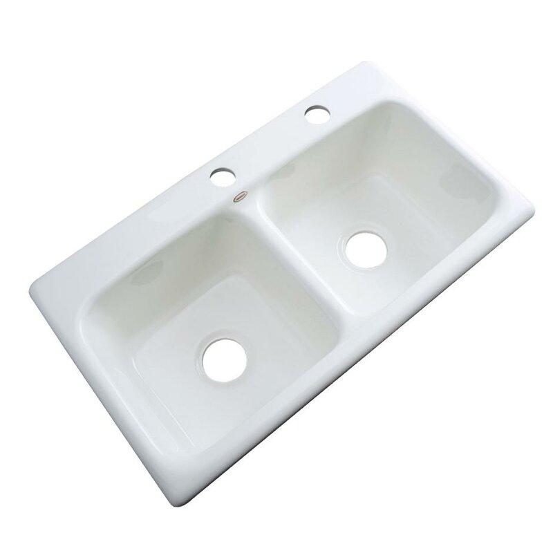 Portland 33 L X 19 W Kitchen Sink