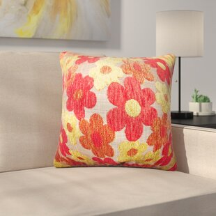 Sturm Floral Linen Throw Pillow (Set of 2)